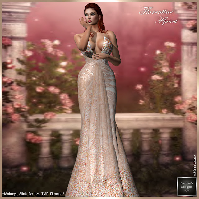 SASCHA'S DESIGNS - Florentine Apricot @ Designer Showcase Event (May 2019)