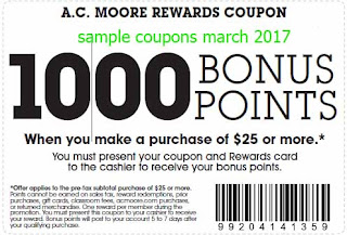 AC Moore coupons march