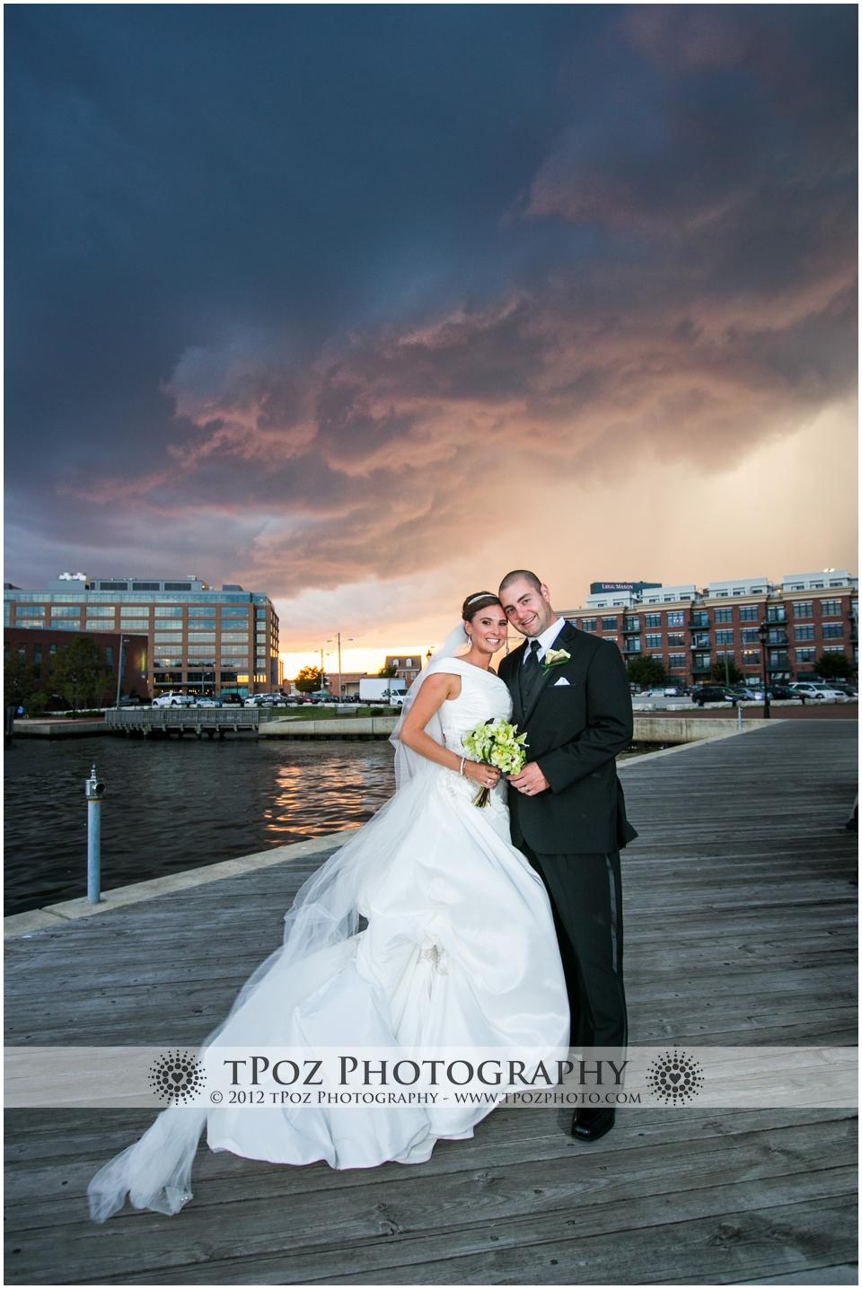 Fells Point Bond Street Wharf Wedding Ceremony