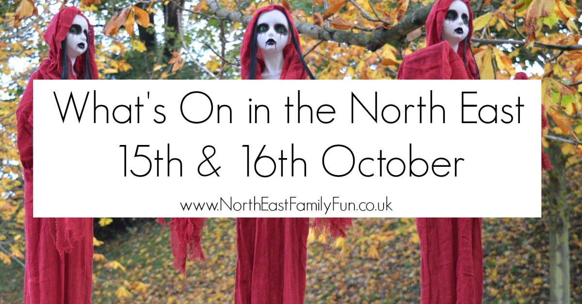 Whats On in the North East for Kids | 15th & 16th October