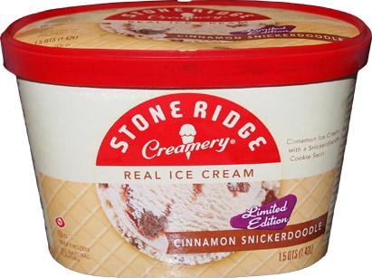 Stone Ridge Creamery Cinnamon Snickerdoodle Ice Cream Review
