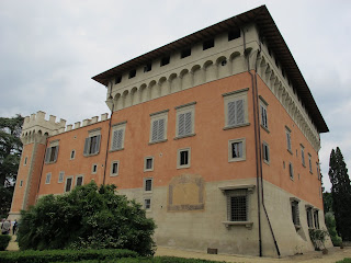 The Villa Salviati, the former castle where Grisi and Giovanni  Mario made their home on returning from the United States