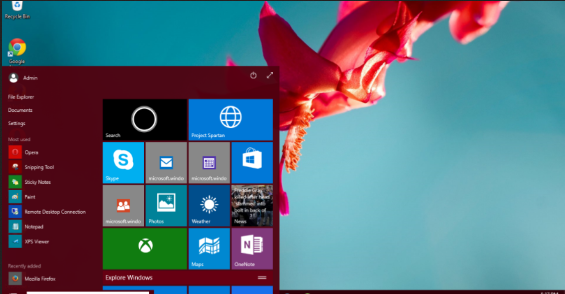 Windows 10 Pro Technical Preview (Latest Build 10049) | template