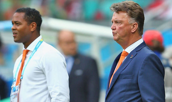 Kluivert and Van Gaal have worked together a number of times over the years
