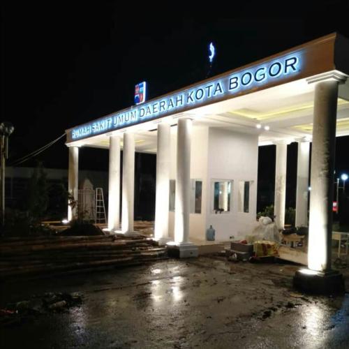 Huruf Timbul Bogor