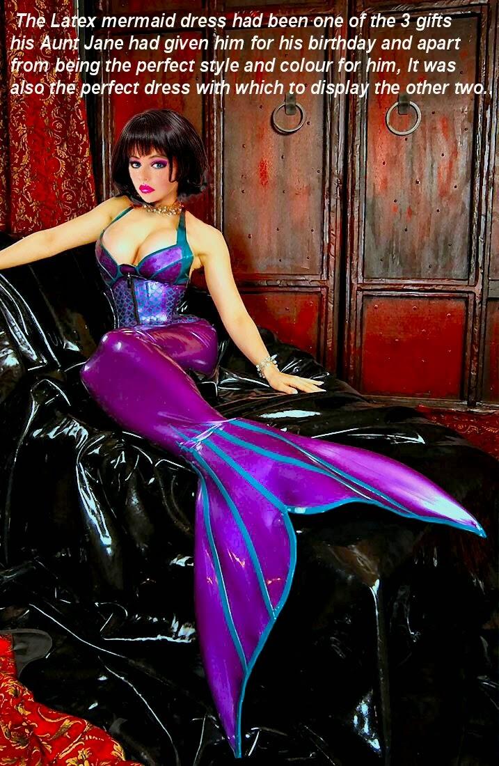 Mermaid bondage