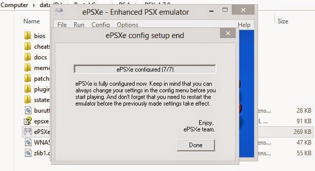 Cara main game ps 1 dengan emulator epsxe