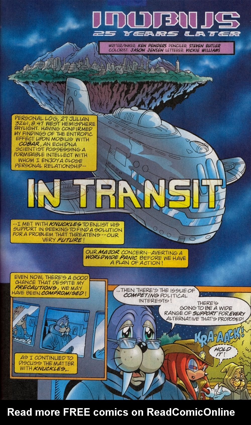 Read online Sonic The Hedgehog comic -  Issue #134 - 25