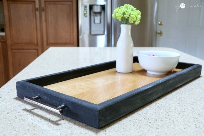 chalkboard serving tray