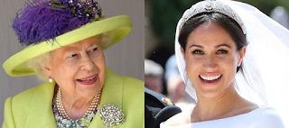 Μοναδικό είναι το δώρο που χάρισε η βασίλισσα Ελισάβετ στη Meghan Markle - ΦΩΤΟ