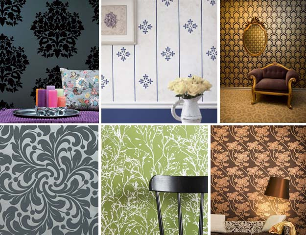 Best Wallpaper Wall Modern Minimalist Living Room