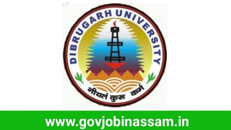 Dibrugarh University Recruitment 2018