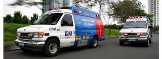 Ambulance service in Metro Manila, Philippines