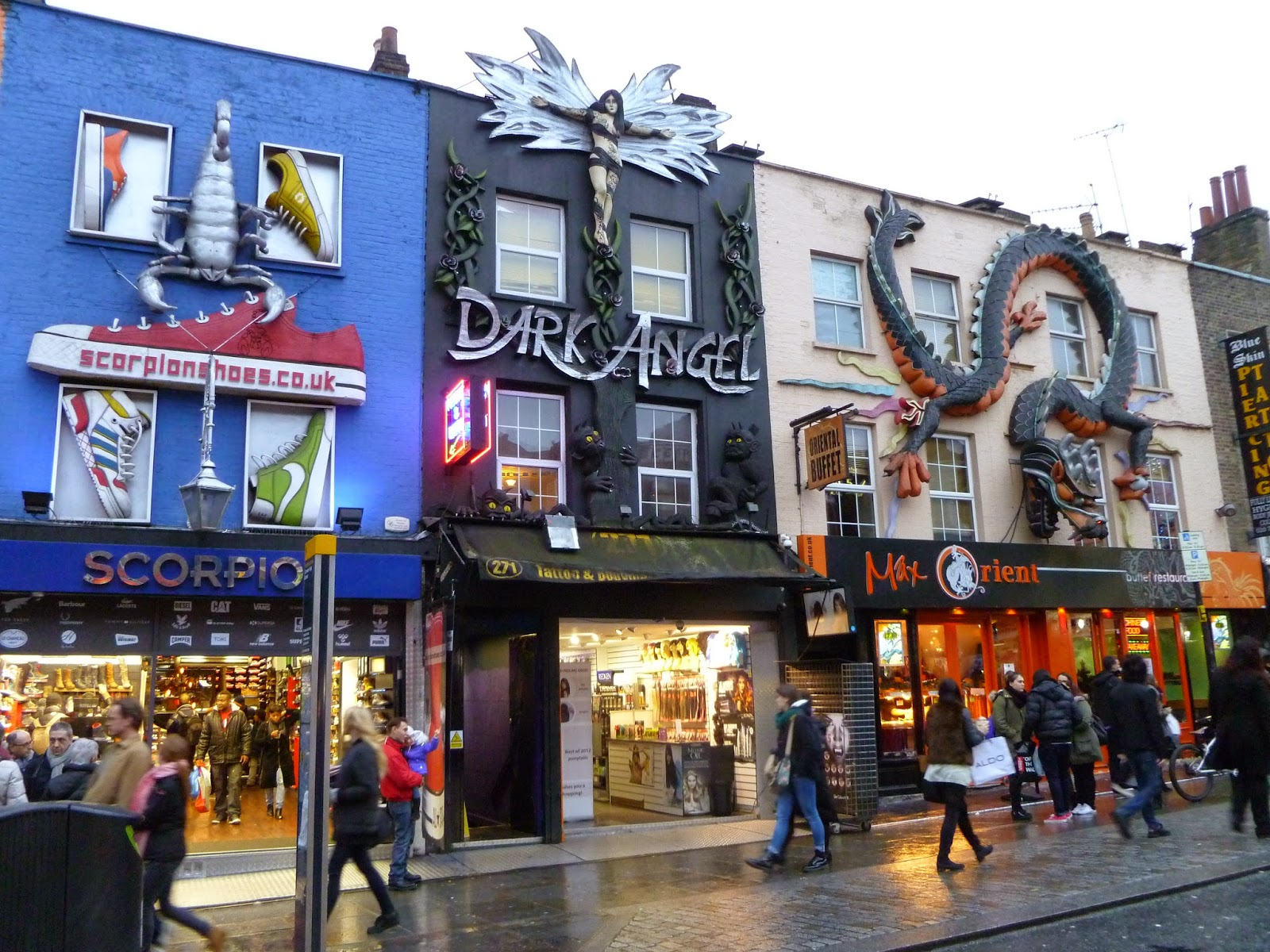 Week end londres part 3 and so my dreams came true - Quartier londres shopping ...