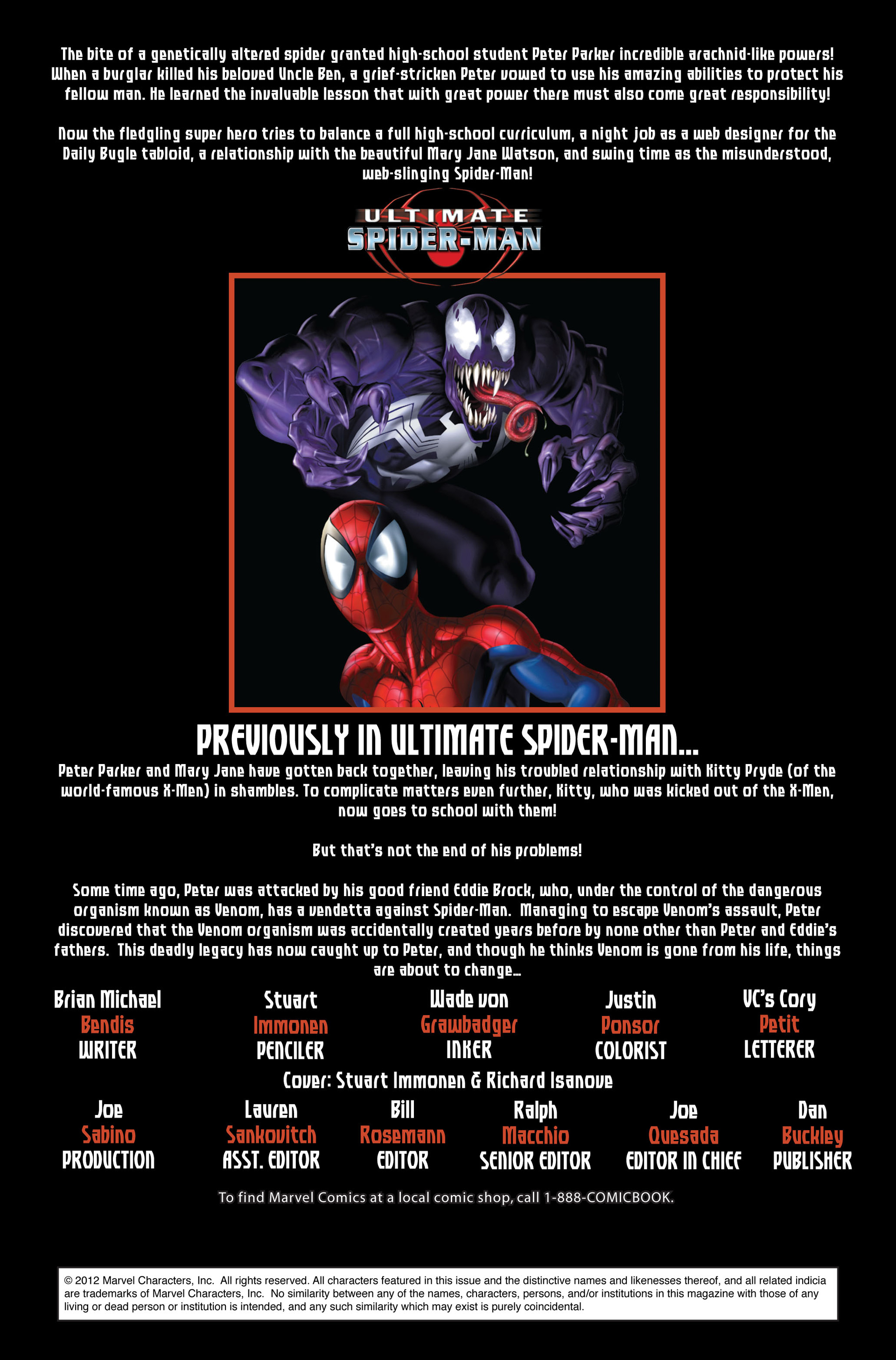 Read online Ultimate Spider-Man (2000) comic -  Issue #123 - 2