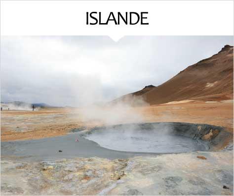My Travel Background : Voyage Europe Islande