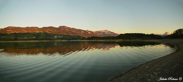 Lac de Gumefens, Suisse