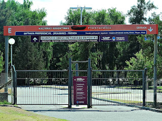 Portões do Estádio Malvinas, Parque General San Martín, Mendoza