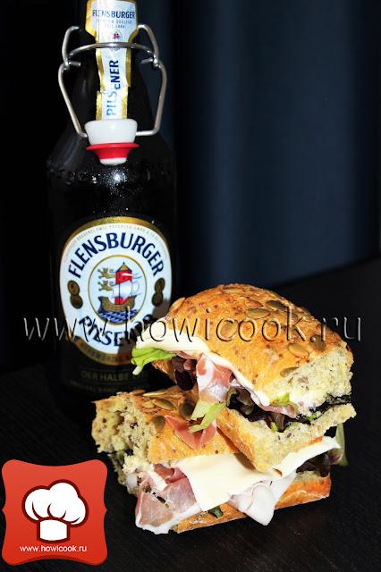 рецепт вкусного сендвича