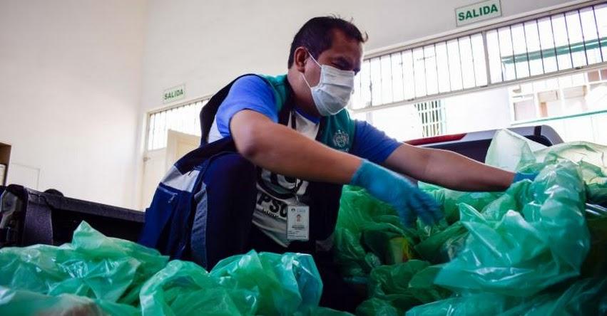 CANASTAS PERÚ: Presentan aplicativo que facilita registro de beneficiarios de canastas de alimentos