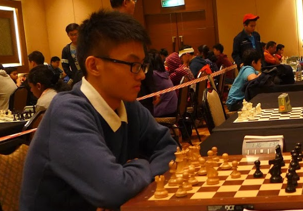 Tan Yong Zhao leads in Goldis Challenger 2016