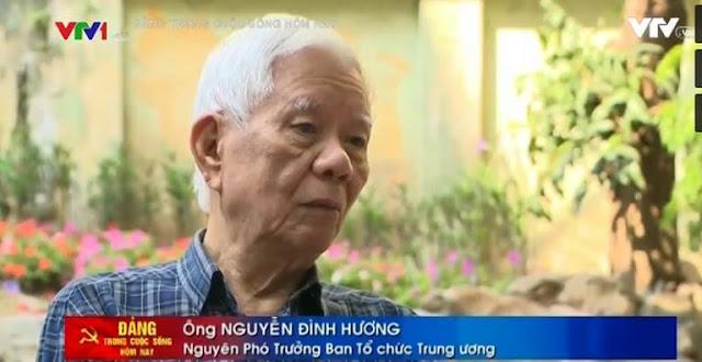 Ông Nguyễn Đình Hương, nguyên Phó Trưởng Ban Tổ chức trung ương