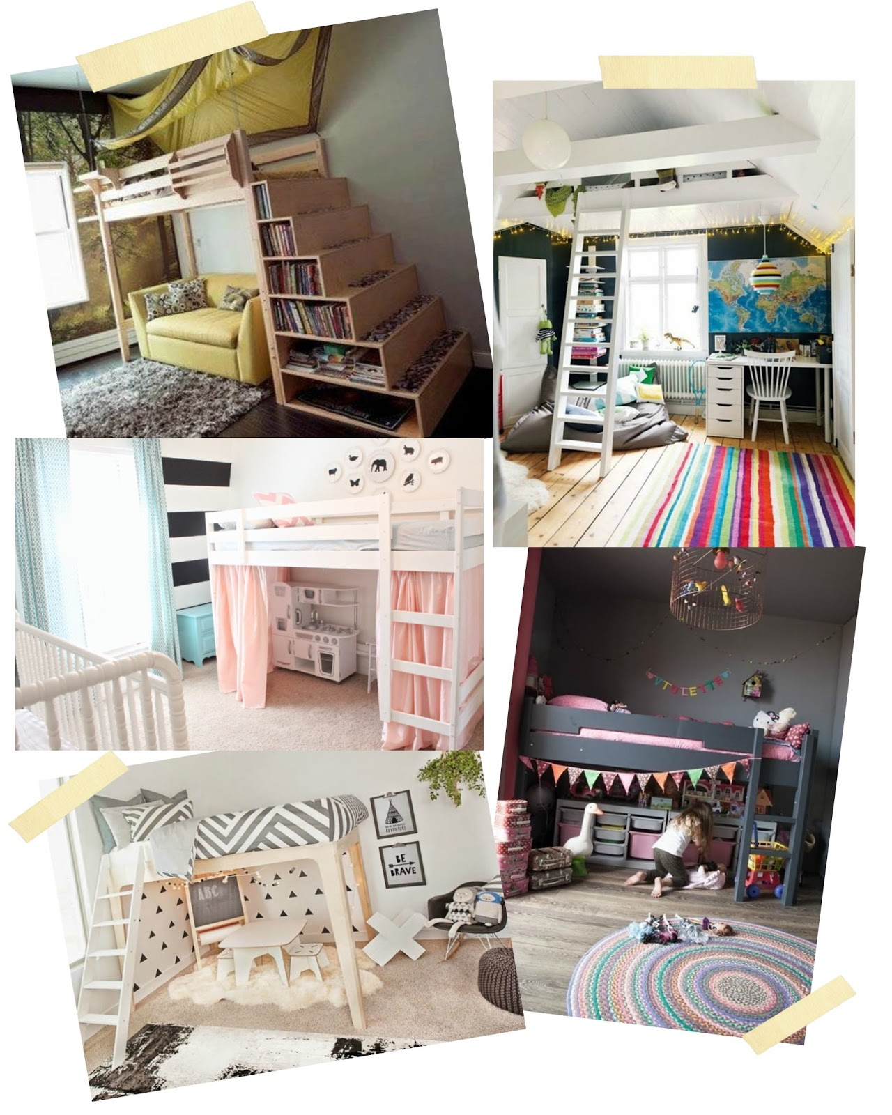 How To Create A Loft Style Kids Bed The Easy Way With