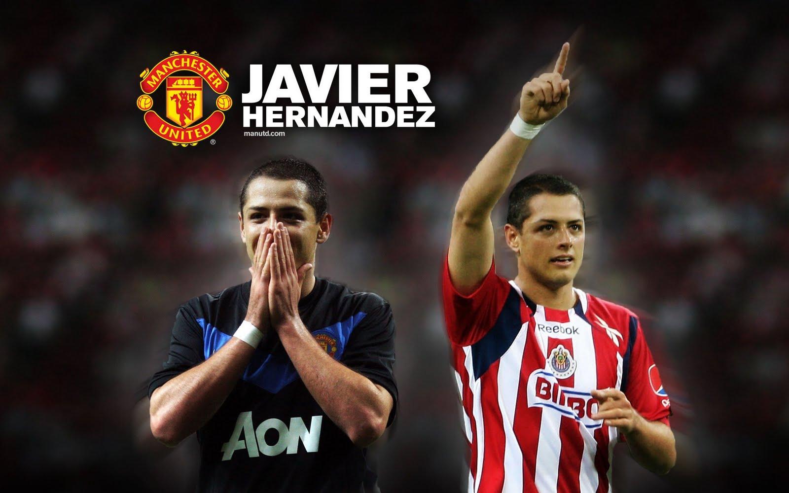 The Best Football Wallpaper: Javier Hernandez Wallpapers