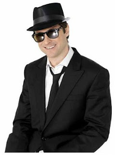 Blues Brothers Fedora Hat
