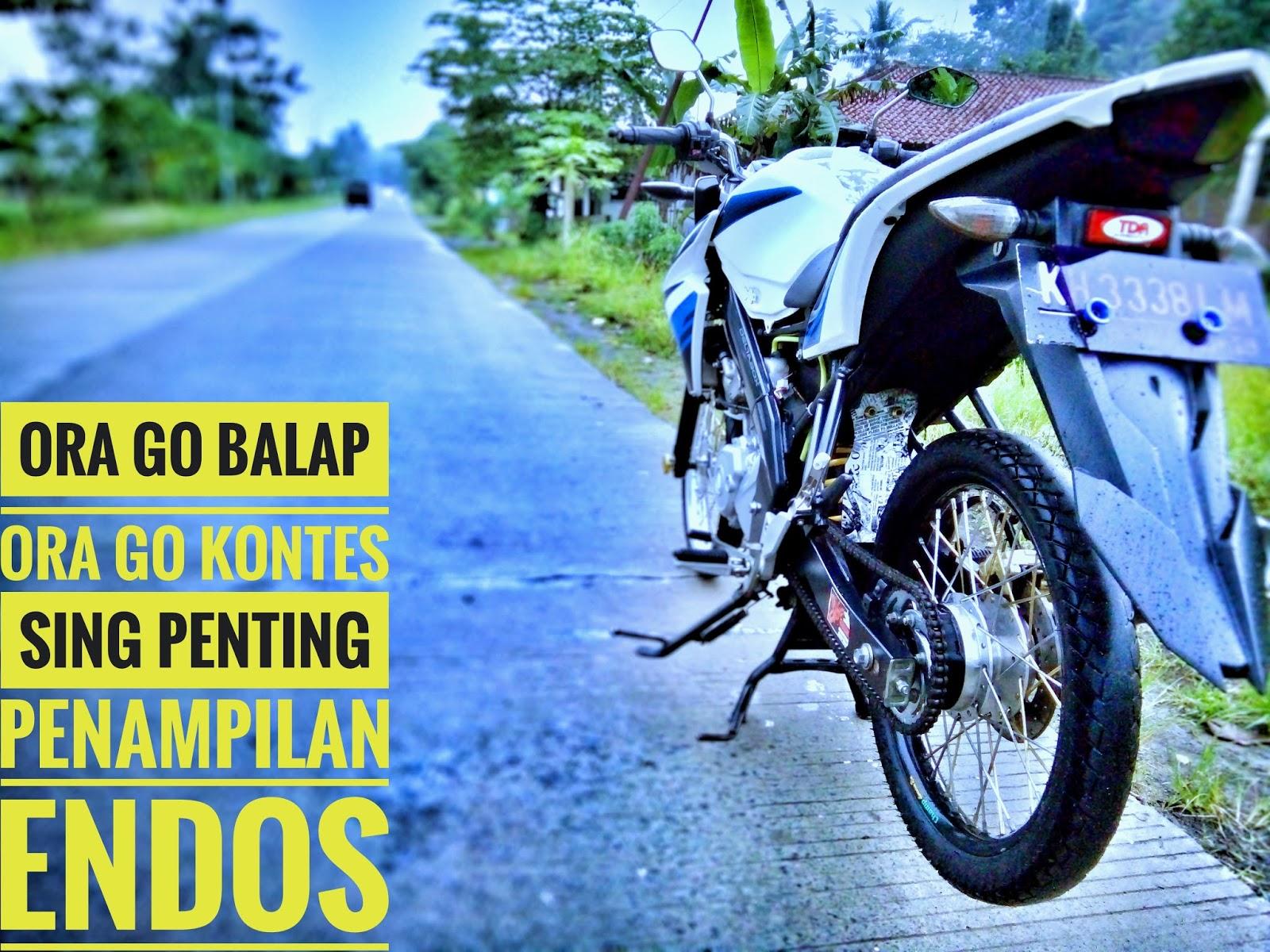 Gambar Caption Ig Naik Motor