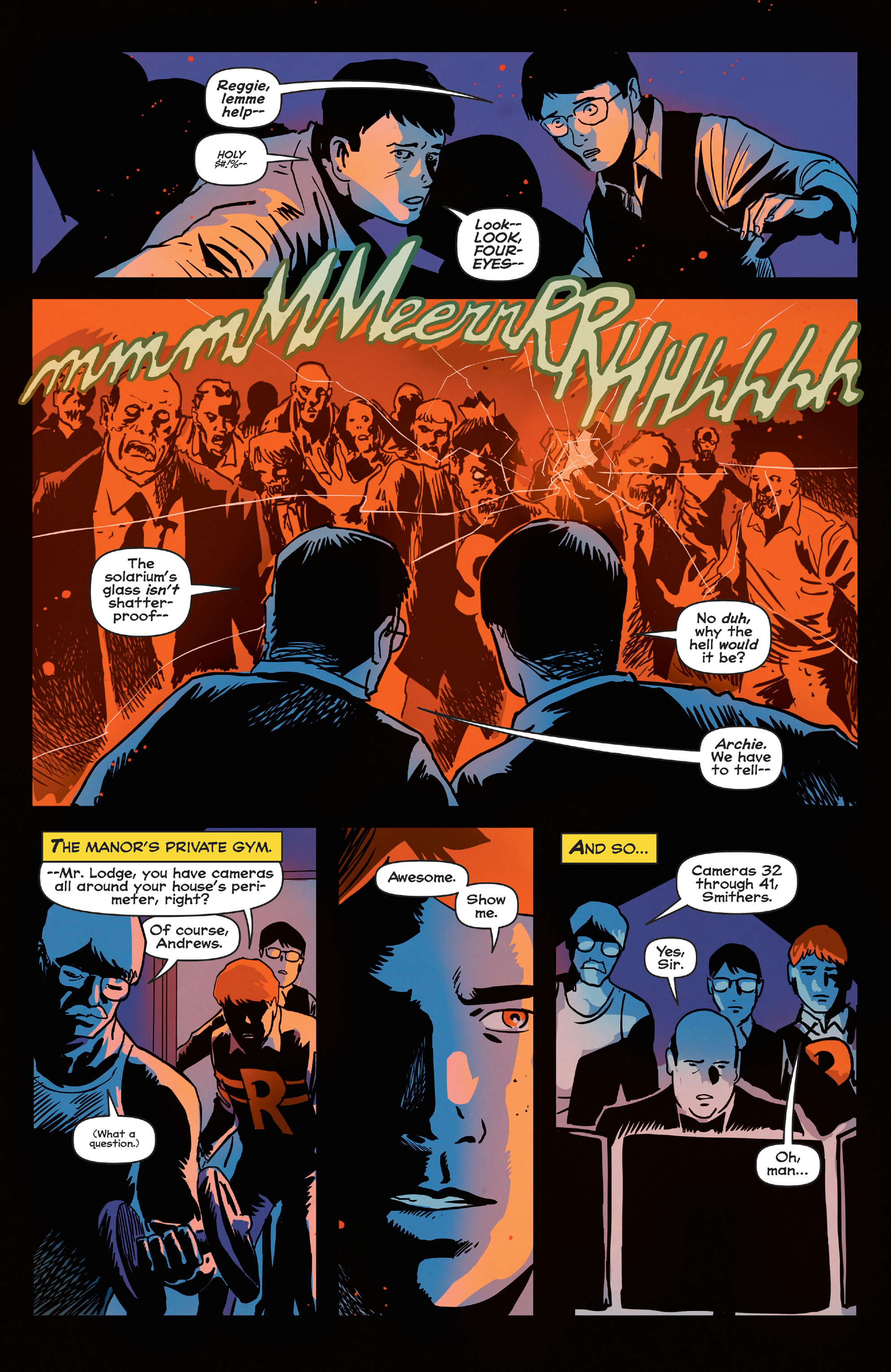 Read online Afterlife with Archie comic -  Issue #5 - 17