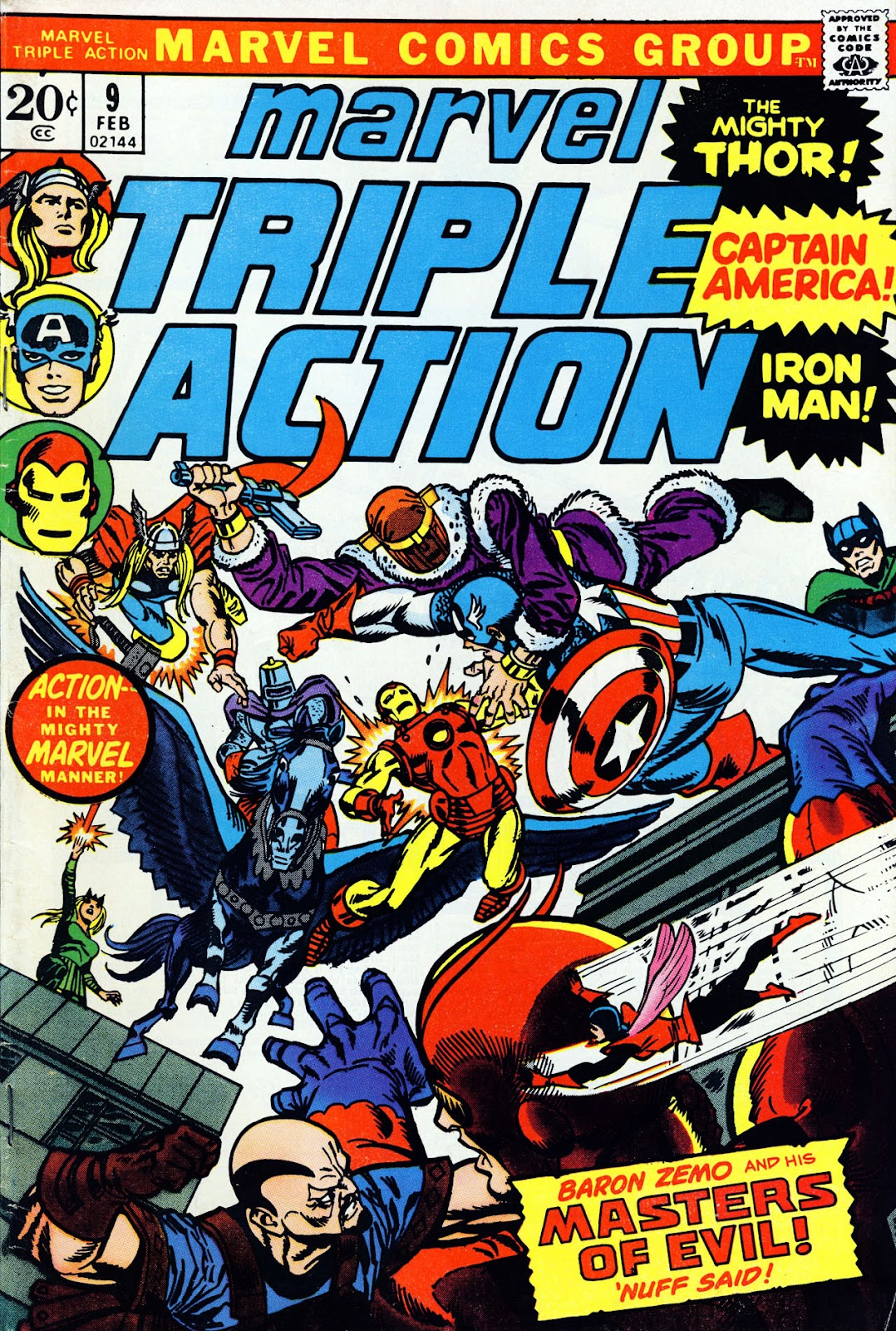 Marvel Triple Action (1972) issue 9 - Page 1