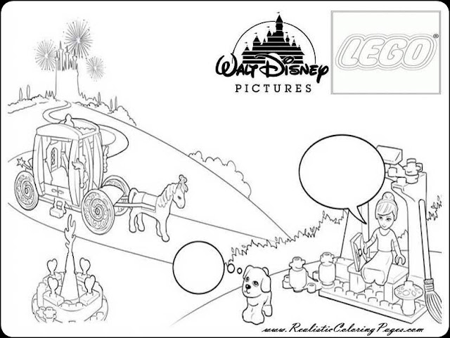 Disney princess coloring pages Cinderella