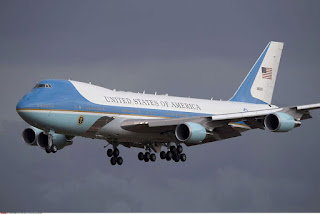 Air Force One, USA, Canada, Pentagone