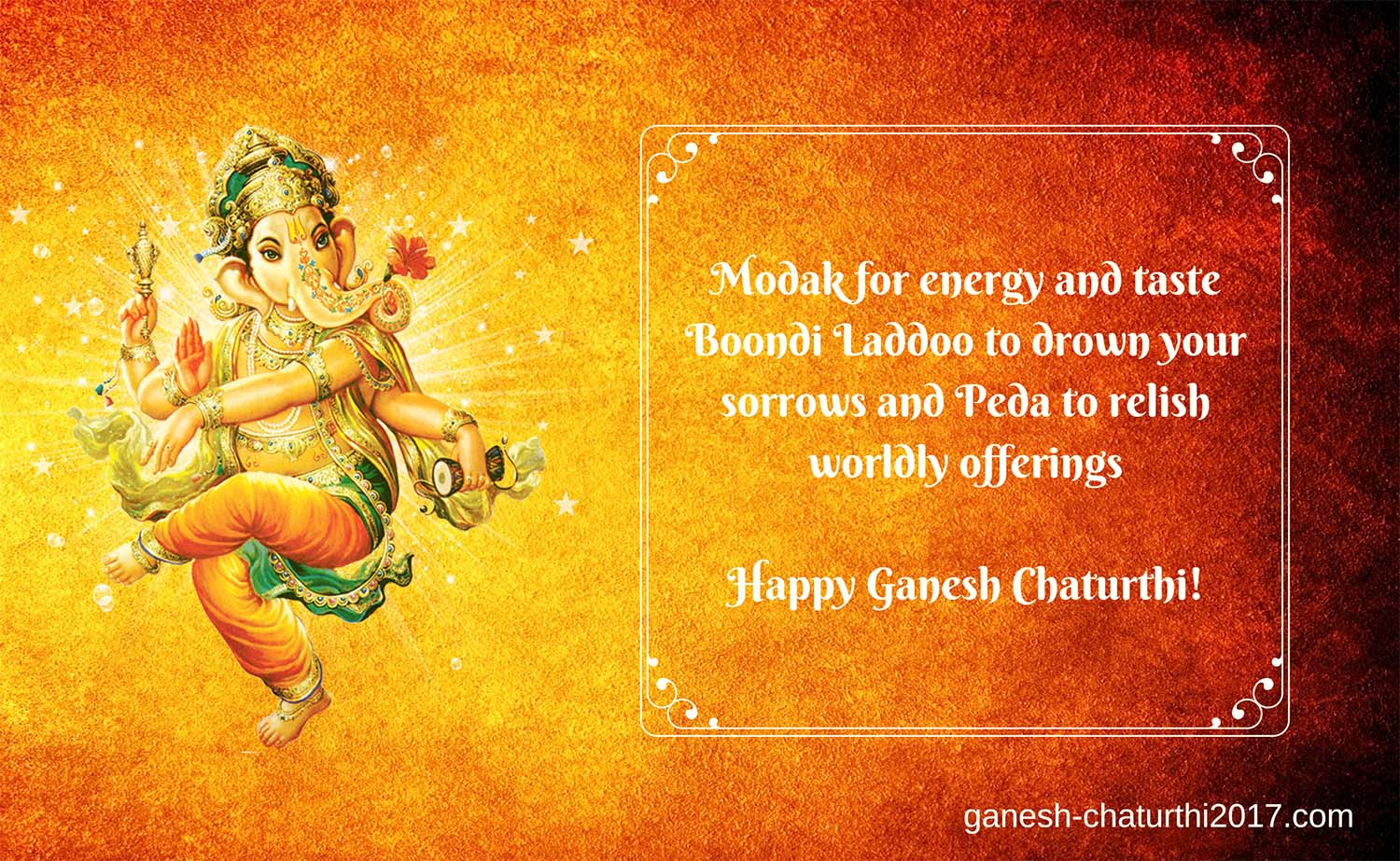 Happy vinayaka chavithi wishes in English