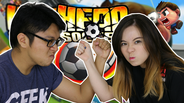 TehChamLee Plays Head Soccer!! \\ Mobile Game Review