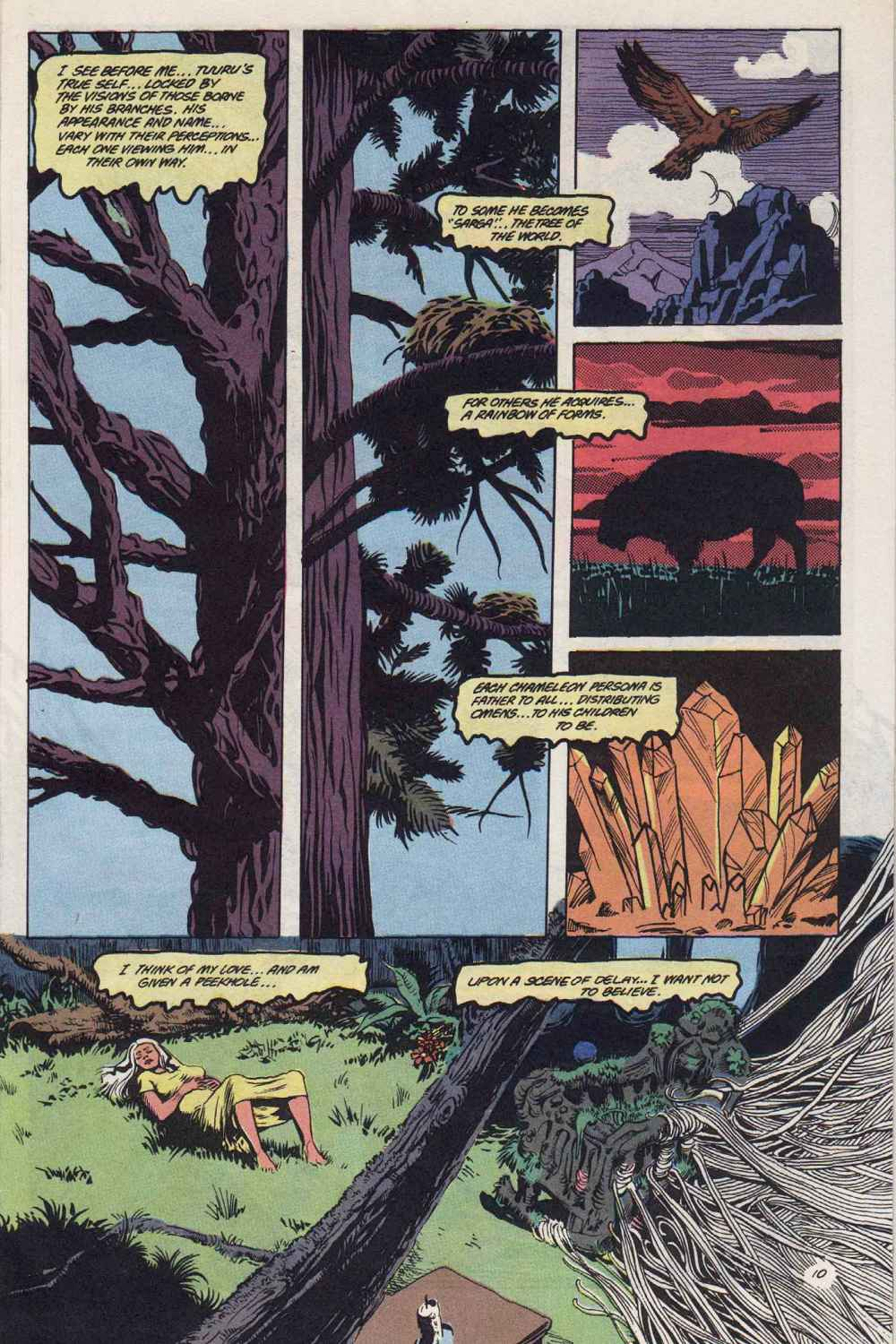 Swamp Thing (1982) Issue #89 #97 - English 11