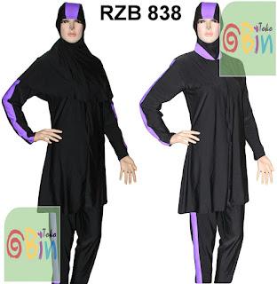 baju renang muslim syari RZB 838