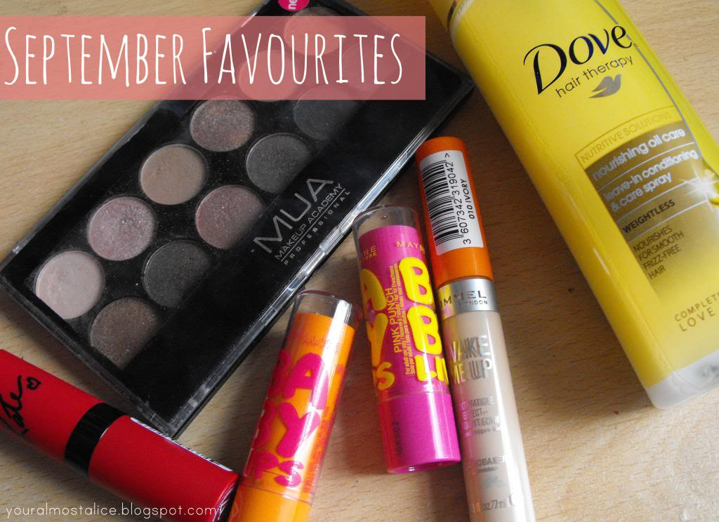 Monthly Favourites | September