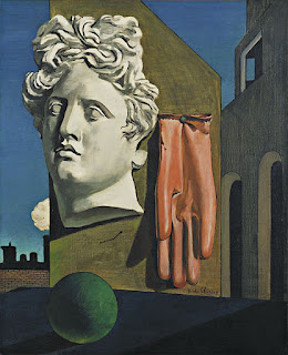 De Chirico's The Song of Love (1914)
