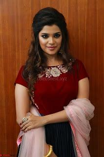 Actress Aathmika in lovely Maraoon Choli ¬  Exclusive Celebrities galleries 092.jpg