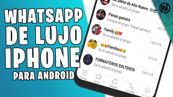 Personaliza tu WhatsApp Estilo iPhone con iOS 12