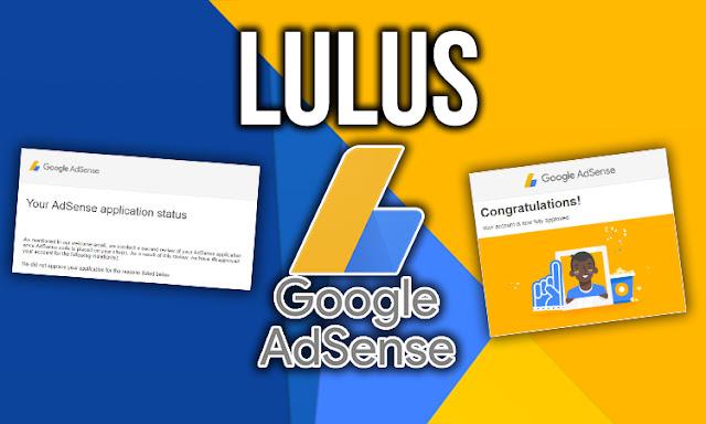 Blog Seorang Syed lulus Google Adsense