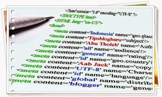 Apakah Google Menggunakan Meta Tag Untuk Merangking Sebuah Halaman ?