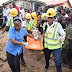 A 5-year-old girl was rescued by officials of the Lagos state emergency services LASEMA