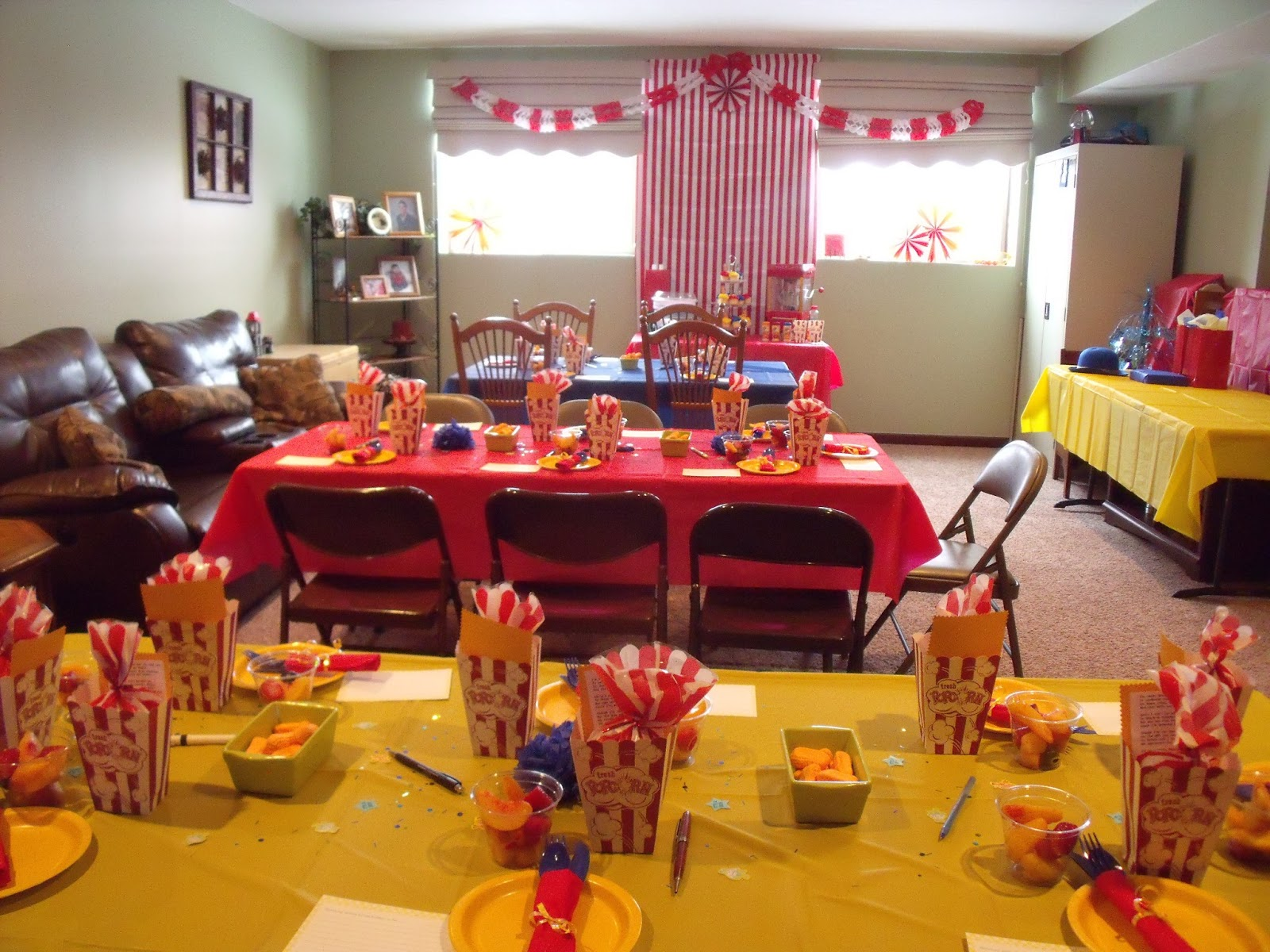 Little House In The Burbs A Circus Baby Shower