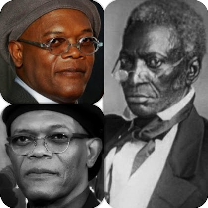 Samuel L Jackson and John Hanson look alike Same Soul Reincarnation looks like the First US President is Reincarnated