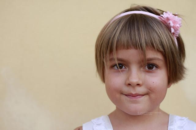 Ritratto di bambina con il Canon EF 50mm f/1.8 II a F:2.2