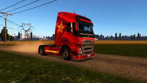 USSR skin for Volvo 2012