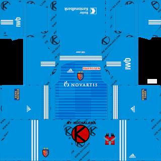 FC Basel 2018/19 Kit - Dream League Soccer Kits
